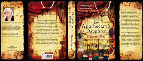 The Apothecary's Daughter - Hardback cover